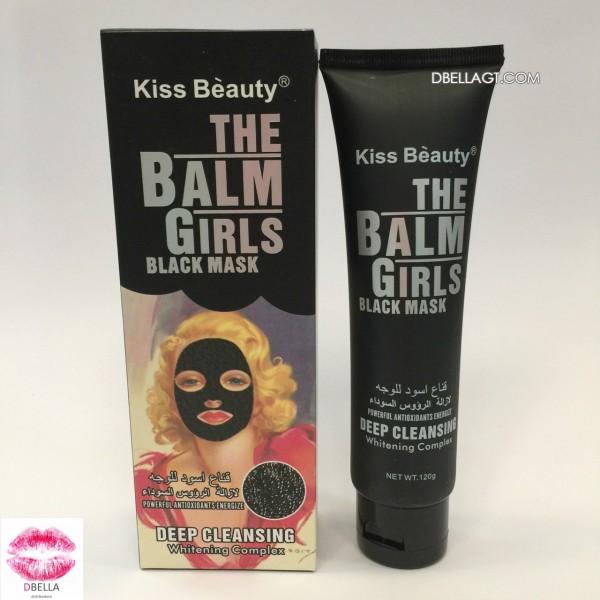 Mascarilla negra kiss beauty