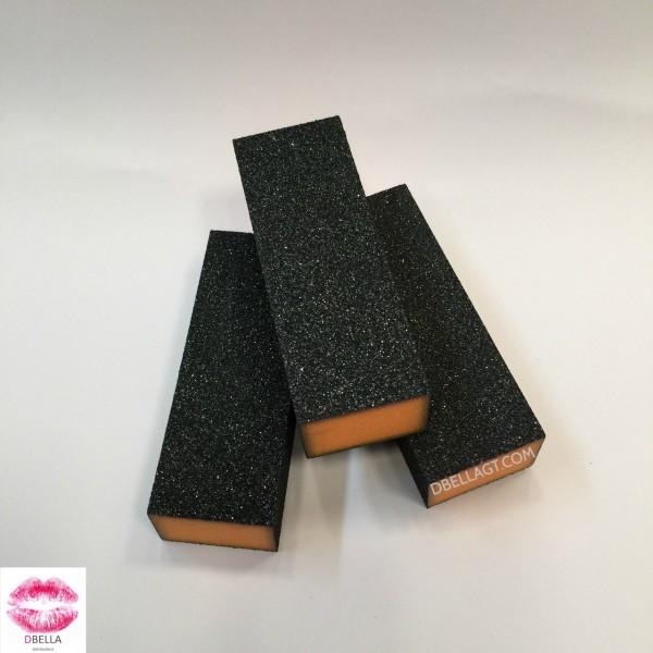 Block negro para uñas