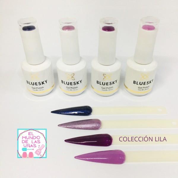 """COLECCIÓN DE ESMALTES """"LILA"""" #BLUESKY"""